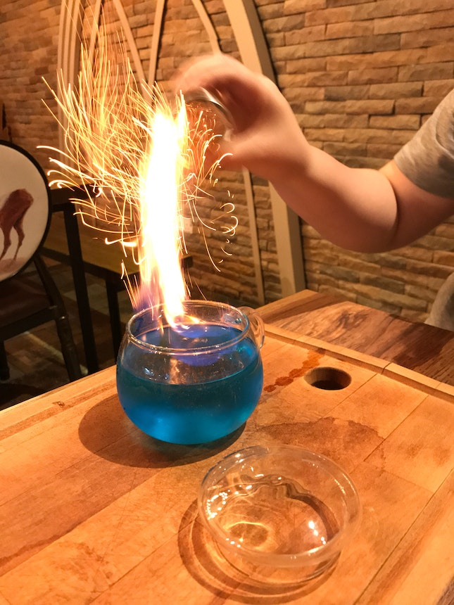 Mr Lich's Flaming Brew ($15)