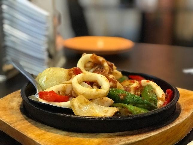 Chincalok Hotplate Sotong ($15)
