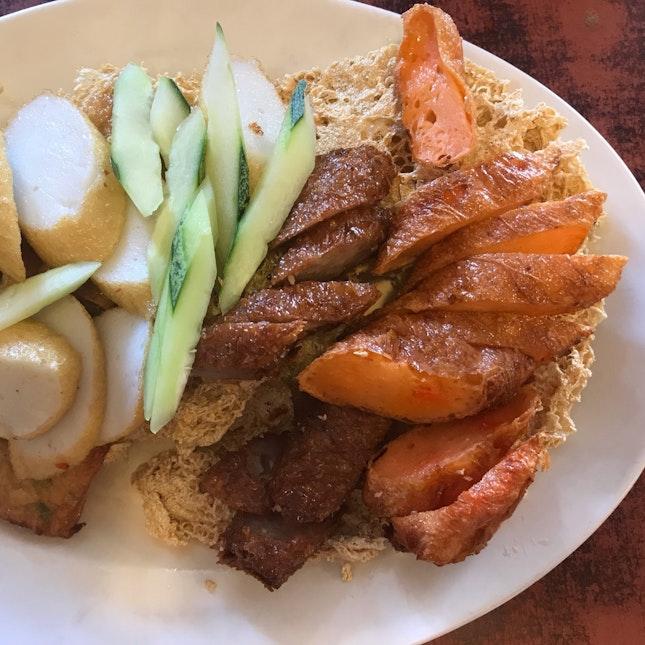 Plate Of Fried Stuff