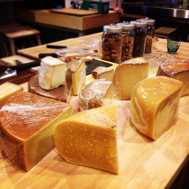intense rare cheeses!