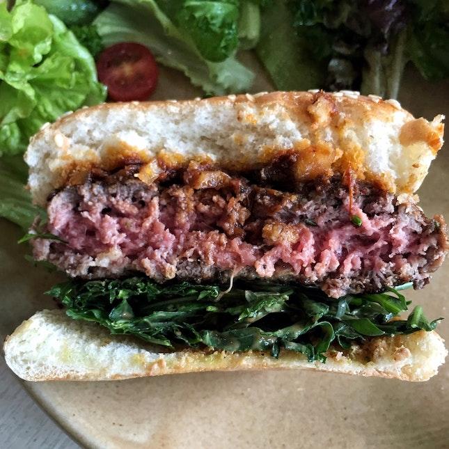 Wild Rocket Beef Burger ($19.20)
