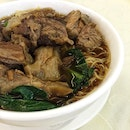 Noodle Soup with Beef Brisket ($12.80)