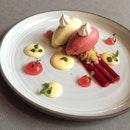 Rhubarb & Custard ($22)