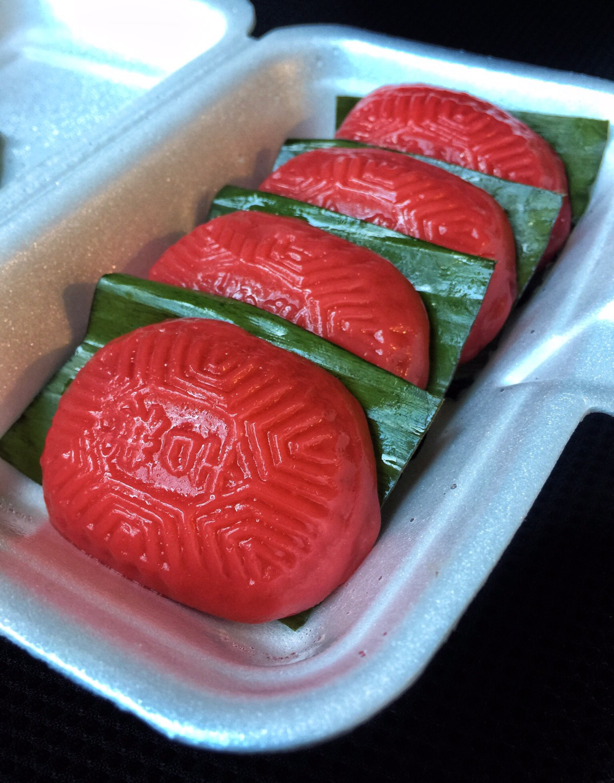 Peanut Ang Ku Kueh ($0.80)