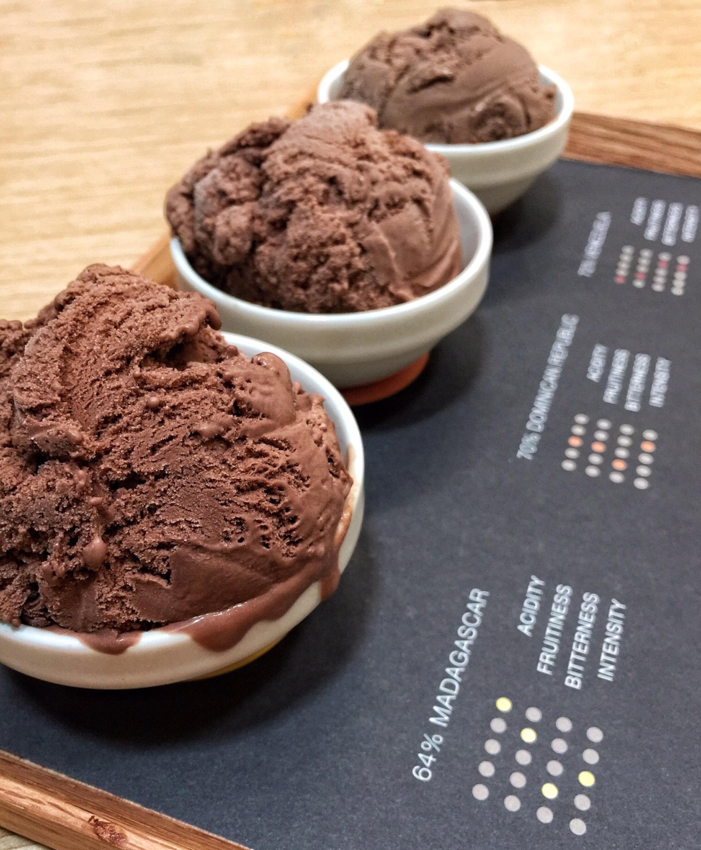 Single Origin Dark Chocolate Ice Cream Platter ($12)