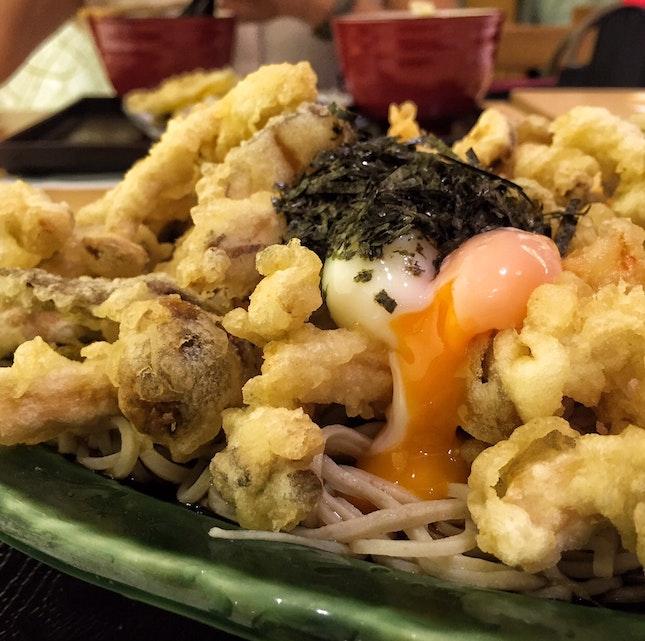 Tenchirashi Soba ($17.80)
