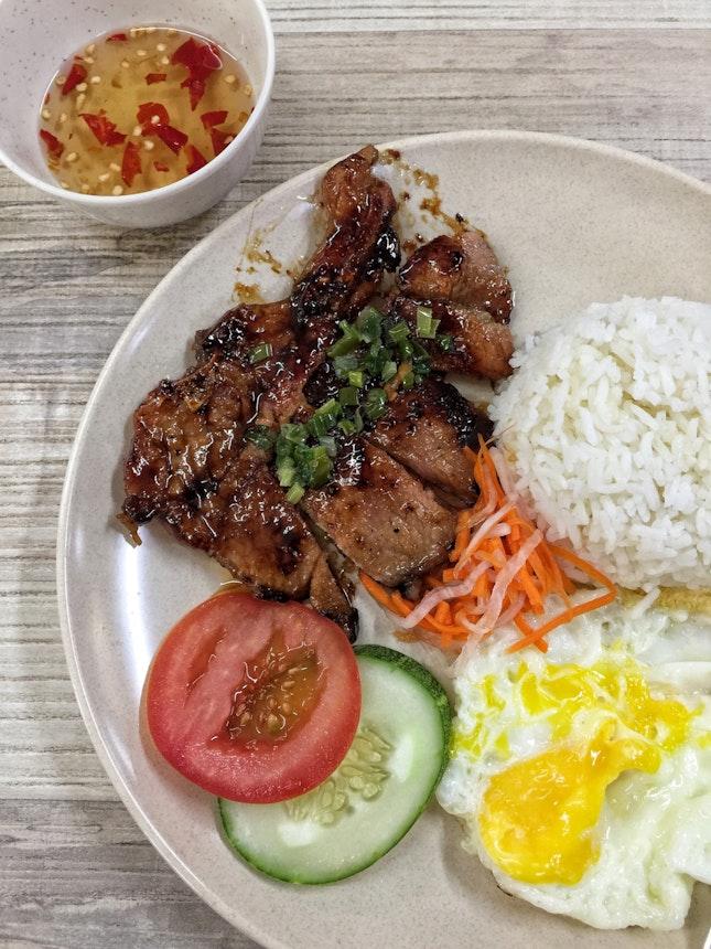 Com Suon Cha ($6)