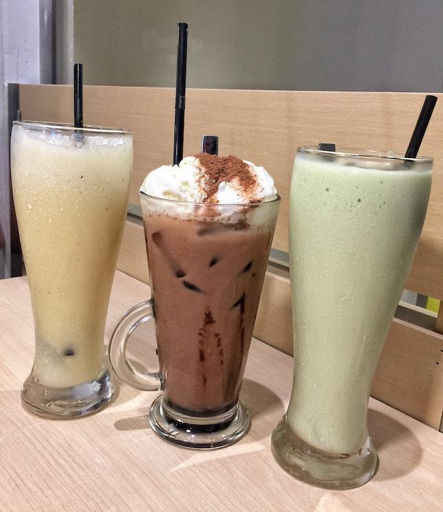 Milkshakes ($6.50 each)