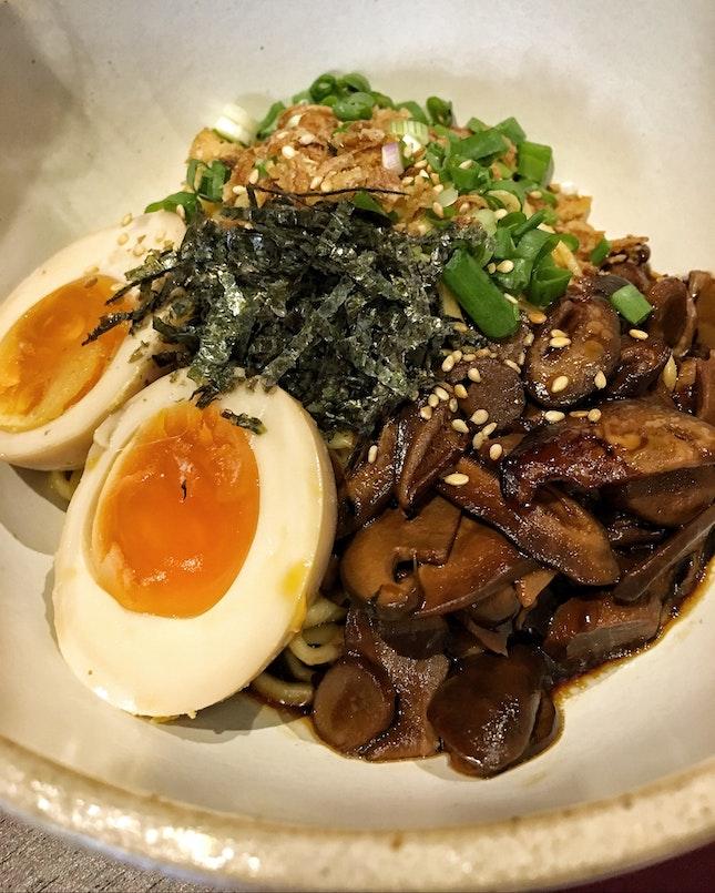 Miso Mushroom Noodles ($5)