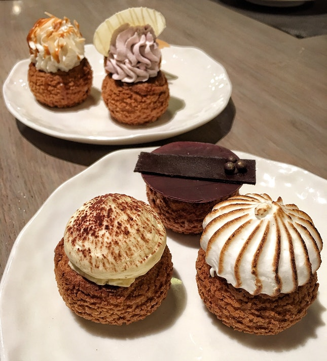 Selection of 6 Choux ($24)