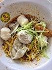 Fishball Noodles ($6)