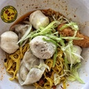 Fishball Noodles ($6)