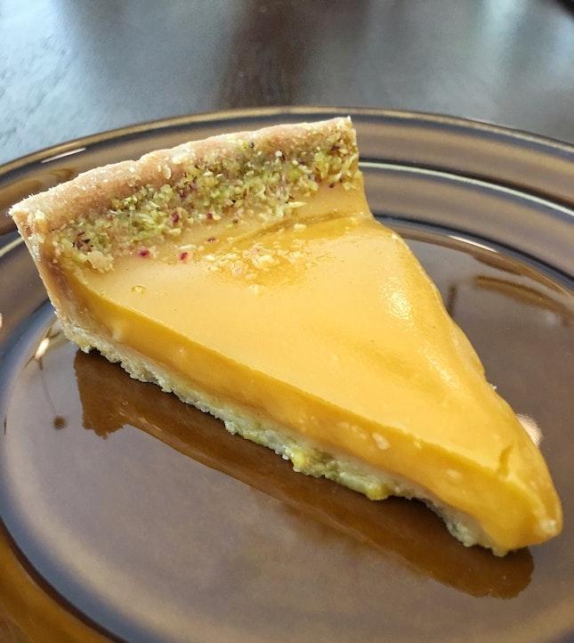 Pistachio Passion Fruit Tart ($6)