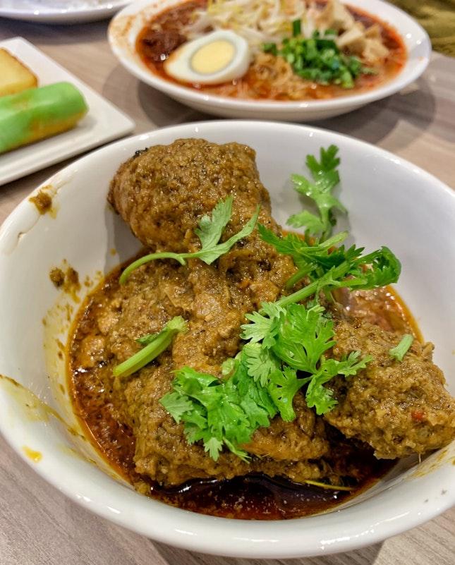 Nonya Rendang Chicken ($8)
