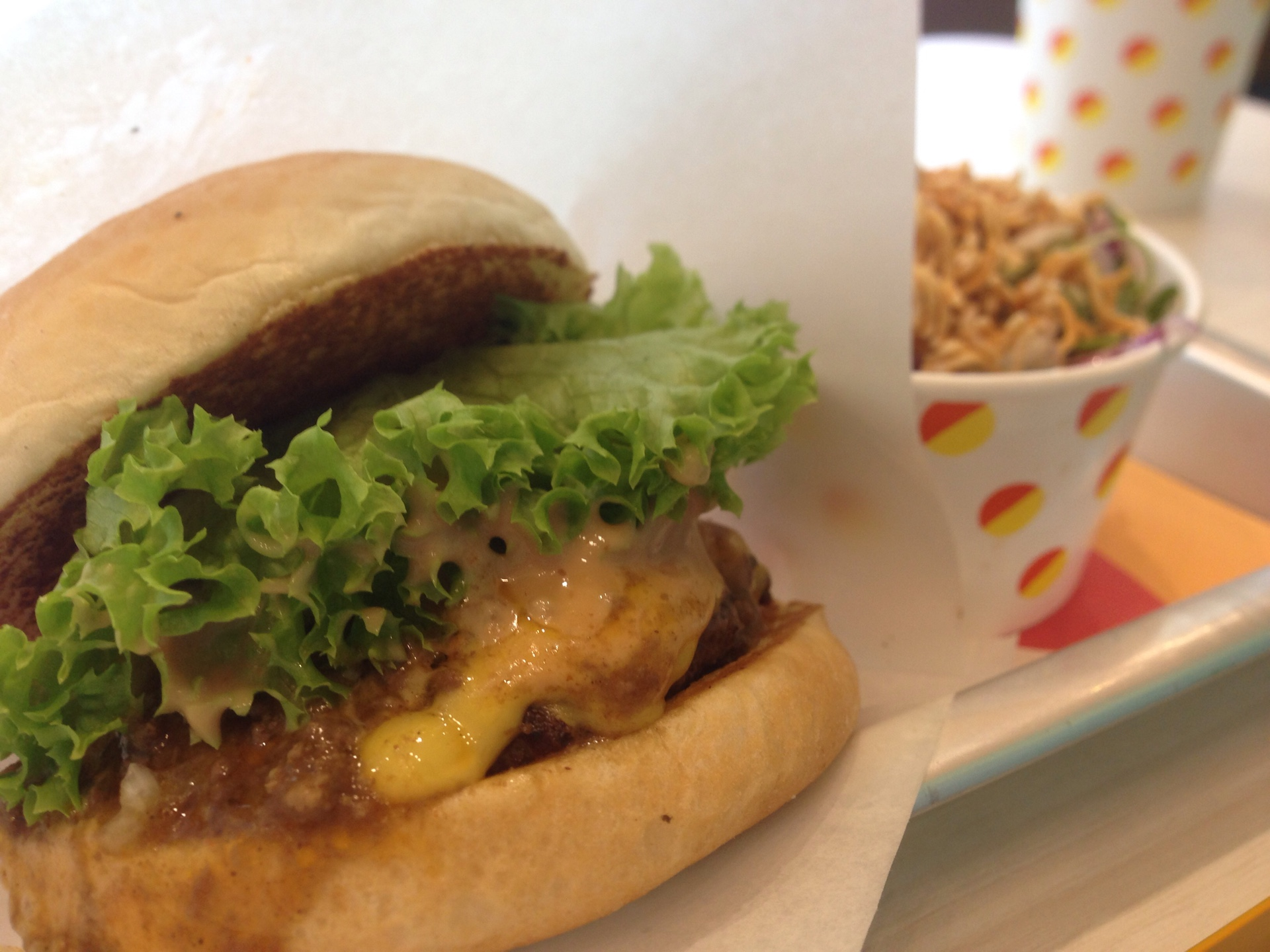 Curry Cheese Burger