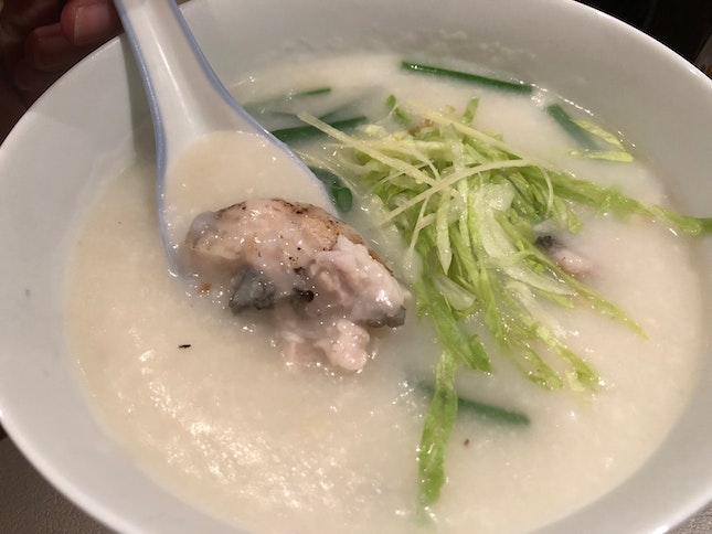 Parrot Fish Belly Congee