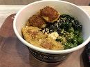 Hakka Tofu Rice Bowl