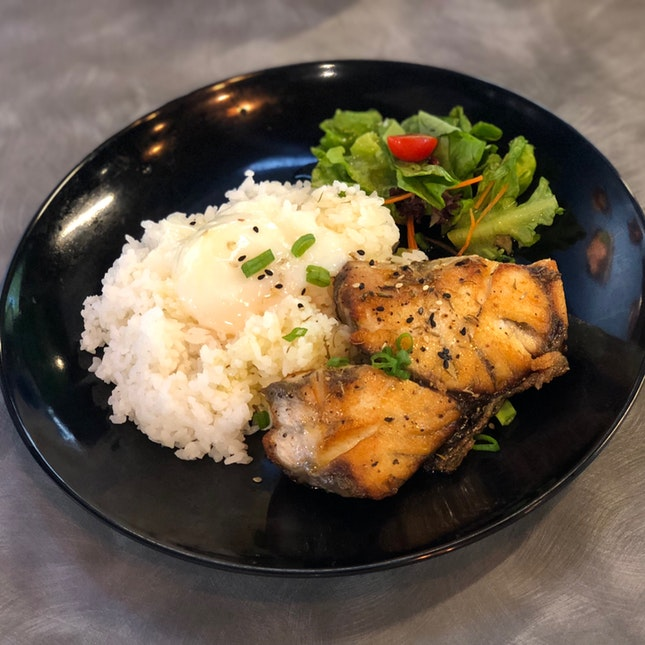 Grilled Seabass Rice