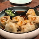 Meat Dumplings in Spicy Sauce