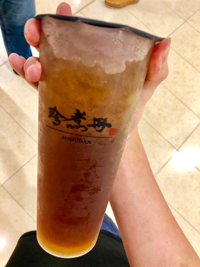 Brown Sugar Lemon Winter Melon Tea