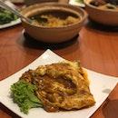 Oyster Egg Omelette
