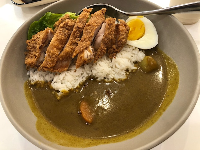 Curry Chicken Rice