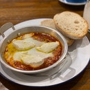 Spicy Lamb Baked Egg