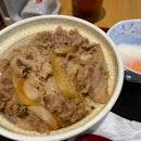 Gyudon with Half Boiled Egg