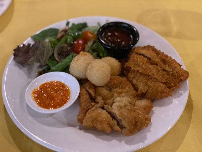 Shashlik's Hainanese Pork Chop