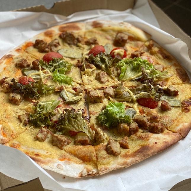Truffle Cheeseburger Pizza