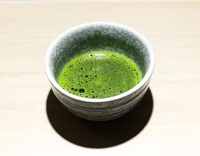 Matchaya - Ceremonial - Usucha 薄茶( 💵S$5.20, 70ml with foam) Served Hot Only 🍵 • ACAMASEATS & GTK💮: This is one for the purist.