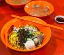 CCK 302 Foodhouse - Mushroom minced meat noodles (💵S$3.50) 🥢•ACAMASEATS & GTK💮: My Favourite Bak Chor Mee is still Hill Street BCM at lavender, however it's quite a distance and the queue can be off putting most of the time.