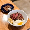 The Salted Plum @thesaltedplumsg - Lunch Bowls - Steak Rice, Pickles, Sous-Vide Egg, Rice (💵S$10 Regular Bowl,  S$15 Upsized Bowl) .