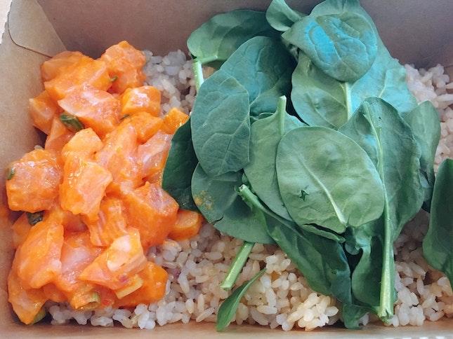 Mini CRC Salmon & Spinach w/h Brown Rice