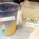 Mermaid's Tears & Green Milk Tea