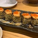 Spicy Mentai Spider Roll ($14.80)