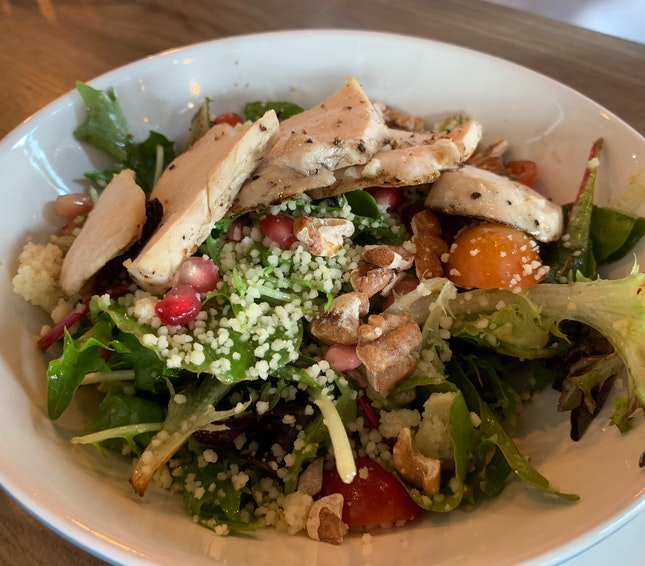 Pomegranate Chicken Salad ($14)
