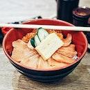 🍣Salmon Ikura Don🍣  When you suck at taking photos of regular food 😂  #salmon #sashimi #ikura #sgig #igsg #sgfood #sgfoodies #sgfoodie #burpple #hungrygowhere #whati8today #singaporefood #singaporeinsiders #exploresingapore #beautifulcuisines #eeeeeats #instafood_sg #sgcafefood #sgcafe #sgeats #sgfoodporn #eatoutsg #topsgrestaurants #appetitejournal