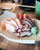 Sashimi for din din.