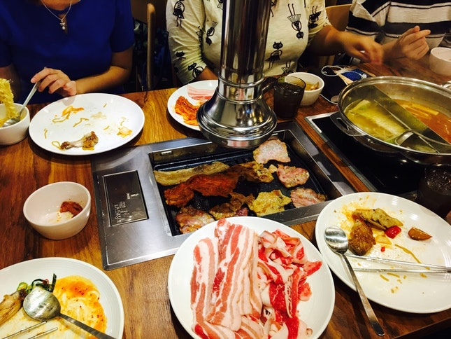 Korean BBQ with Collegues