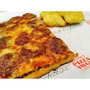 Set A includes 1 slice pizza, nuggets and drink ($7.90) 👍🏻 Good value for money!