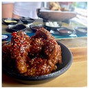 Crunch Chicken (Sauced) 🍗 Korean-style fried chicken will always be considered as a reward on a weekend.