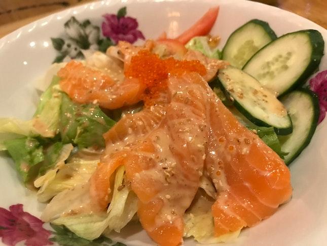 Salmons Sashimi