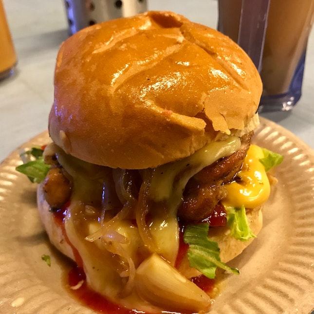 Chicken Chop Burger