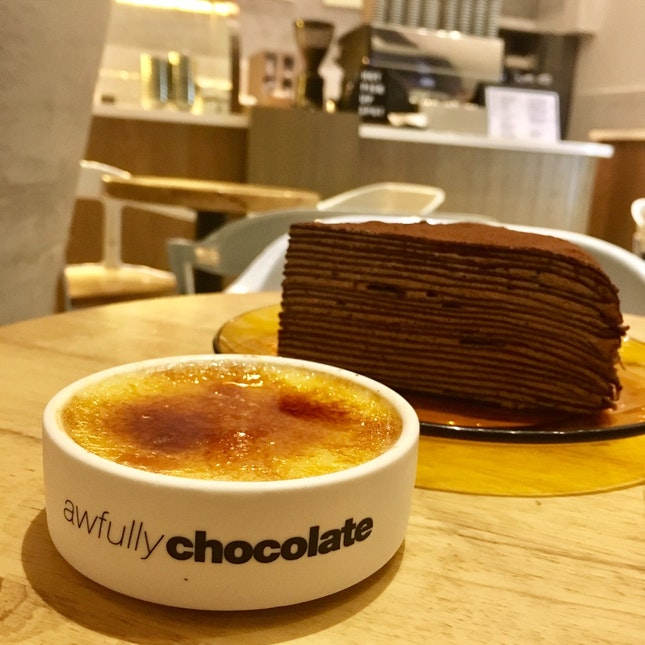 Chocolate Praline Cake Awfully Chocolate