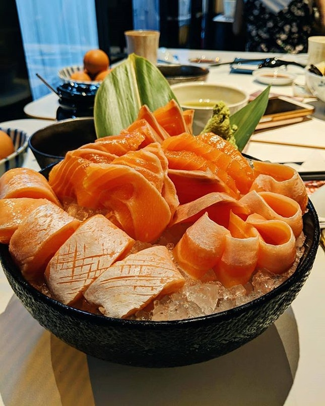 Celebration @ariane.le Birthday 🎂 Free salmon sashimi for birthday (+/- 7day) which number of slices depends on age 😲 Not celebrating birthday?