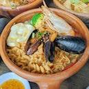Tom Yum Noodle Seafood ($17.90)