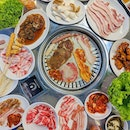 K.Cook Korean BBQ Buffet 🔥 ⬇️ Eat all you can, with no pressure!