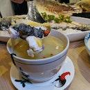 Chef Joel's Brandy White Fish Soup ($11.80++)
