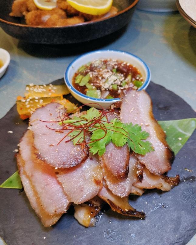 Chef Joel's BBQ Pork Cheek ($14.80++)